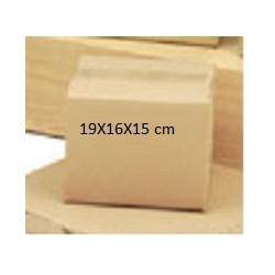 CAJA CARTON SIMPLE 19X16X15 CM