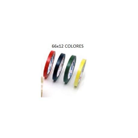 12 ROLLOS CELO COLORES 66X12