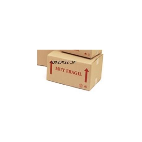 caja de carton doble 40x30x22 cm