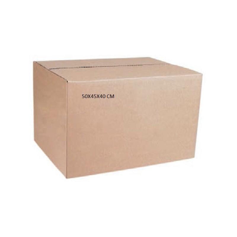 Caja carton doble 50x45x40 cm tienda embalajes for Cajas carton embalaje