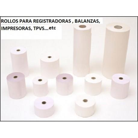 PAQ. 10 ROLLOS TERMICOS 57X55X12