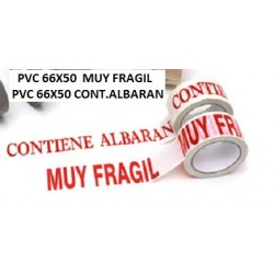 66X50 PVC MUY FRAGIL