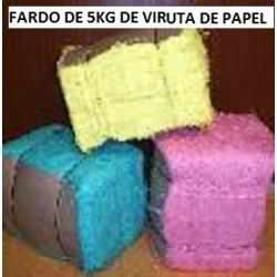 FARDO DE 5KG DE VIRUTA DE PAPEL