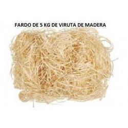 FARDO DE 5KG DE VIRUTA DE MADERA