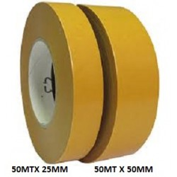 CINTA DOBLE ADHESIVO 50MT X 25MM