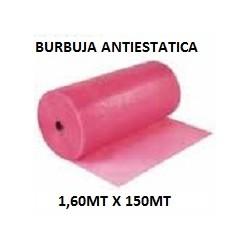 PLASTICO DE BURBUJA ANTIESTATICA 1.60MT