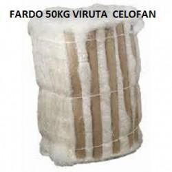 FARDO DE 50KG VIRUTA DE CELOFAN