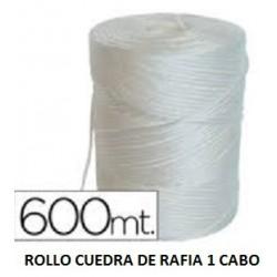ROLLO CUERDA DE RAFIA 750GR. 1CABO